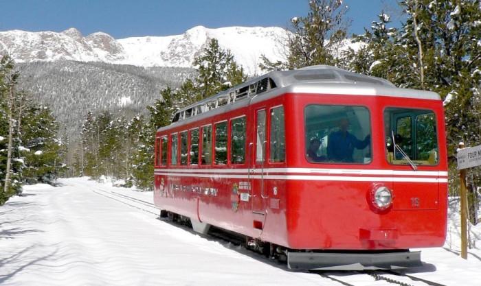 2. Pikes Peak Cog Railway (Manitou Springs)