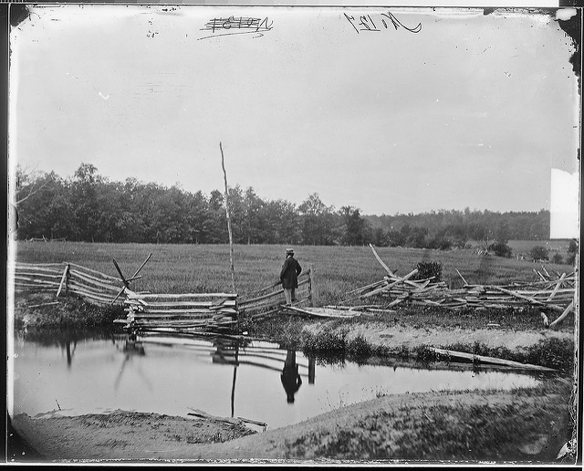 10. This photograph of the Gettysburg battlefield is older than the others on our list; it was taken in 1860.
