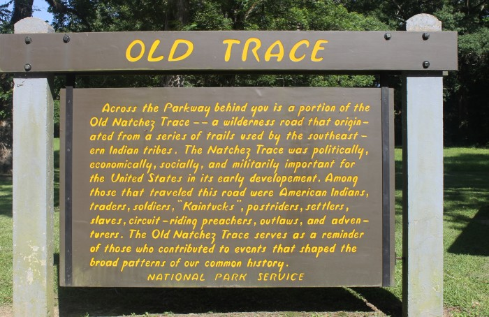 4. During the 19th century, a majority of traffic on the Natchez Trace was from travelers known as Kaintucks.