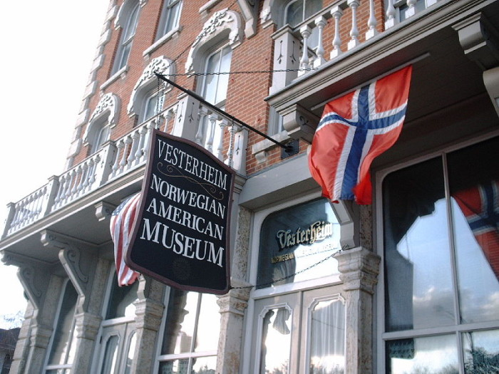 4. Immerse yourself in Norwegian culture and history at the Vesterheim National Norwegian-American Museum in Decorah.