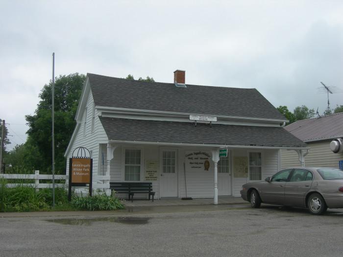 4. Laura Ingalls Wilder House, Burr Oak