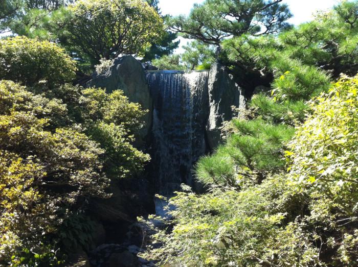 4.Japanese Garden Waterfall, St. Louis