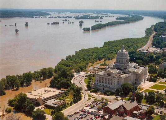 4.In 1993, a Missouri man purposely damaged a levee on the Mississippi river to delay his wife coming home from work. The river flooded 14,000 acres. As a result, he was arrested and convicted of causing a catastrophe and sentenced to life in prison.