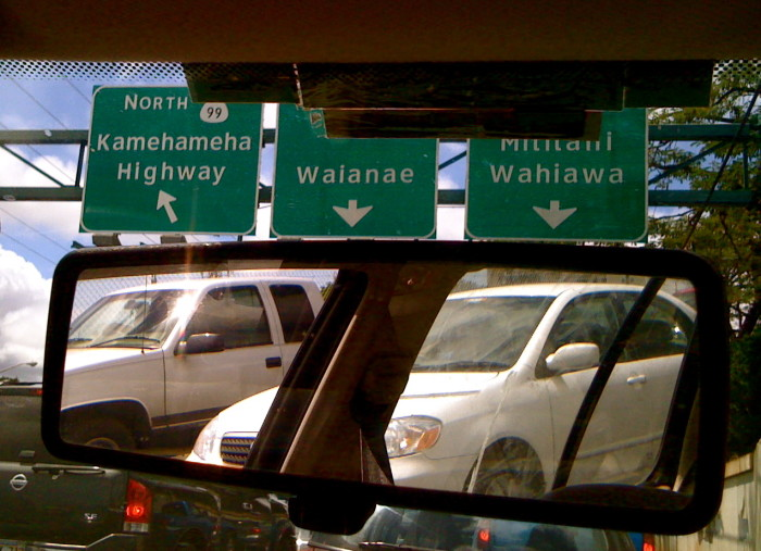 4. Oahu is home to the worst traffic in the country – second only to Los Angeles.
