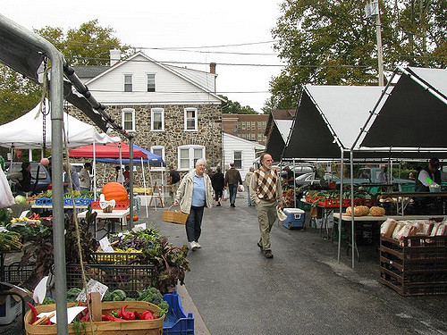 2. Community comes first in West Goshen, and there are plenty of chances to meet and mingle with your fellow residents. Pictured is the West Chester Grower's Market.