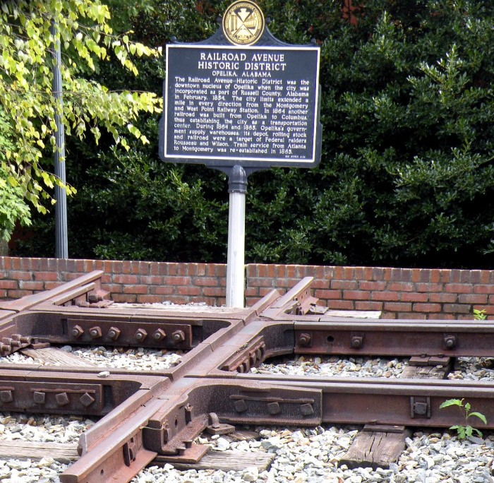7. Opelika's railroad history will amaze you.