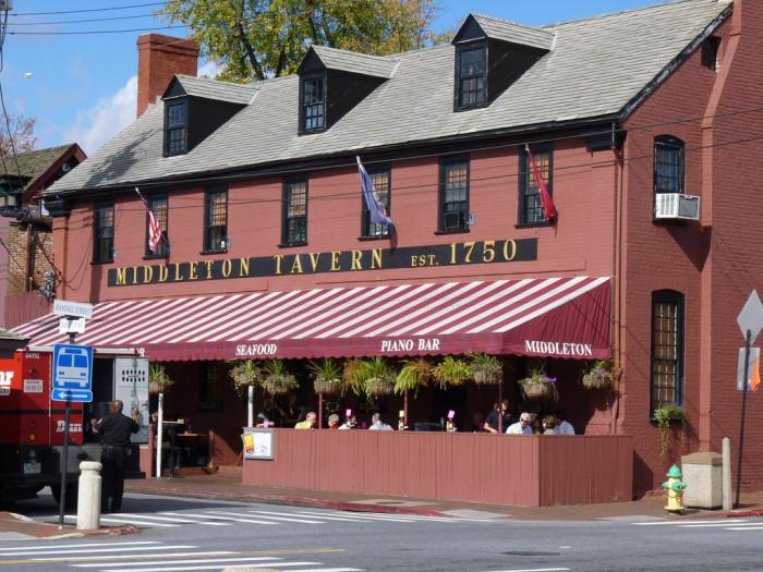 2. Middleton Tavern, Annapolis