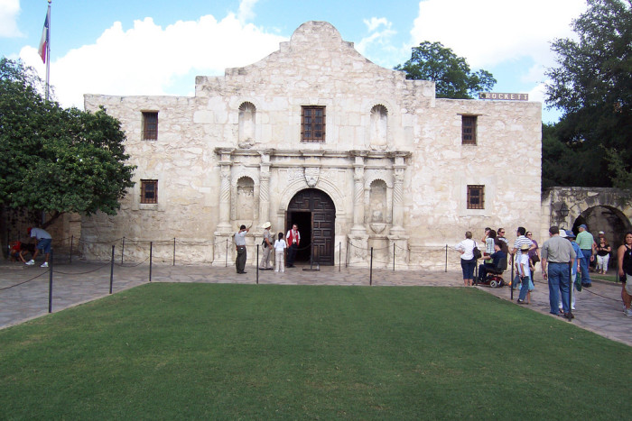 7. The Alamo, Texas. Whether you're a history buff or not, The Alamo in San Antonio is worth the visit.
