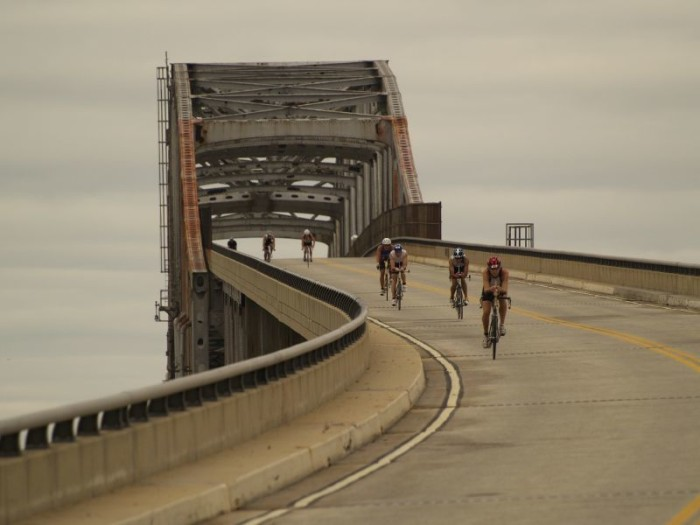 8. Go for a bike ride along Route 9 in New Castle County, and be sure to whiz down the Reedy Point Bridge.