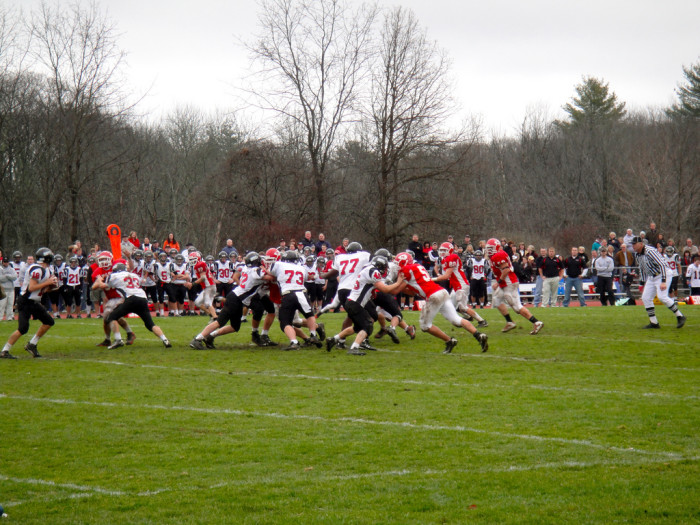2. No Thanksgiving Day is complete without a high school football game.