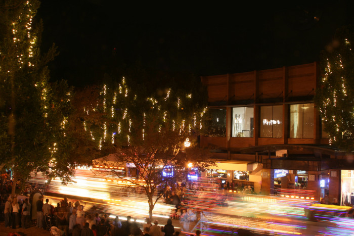 5. Enjoy a night out on Mill Avenue or in downtown Scottsdale.