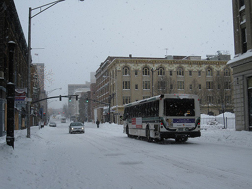 8. Driving in the snow