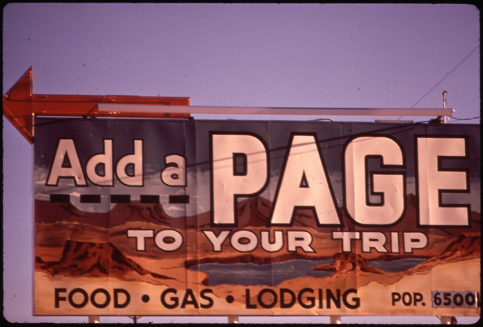 17. Does anyone remember this billboard from about 1973?