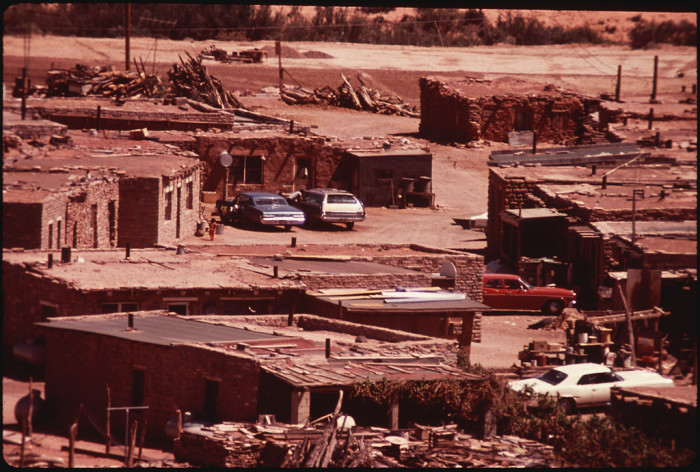 6. This image shows the housing for Peabody Coal Company workers, which is located on the Navajo Nation.
