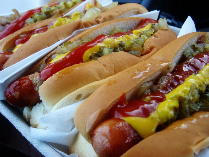 5. Hot dogs