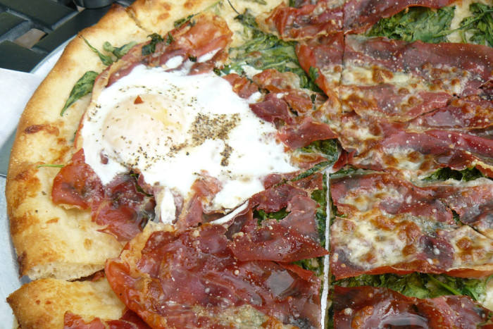 7. Vespaio...because who doesn't love fancy pizza with prosciutto on it?