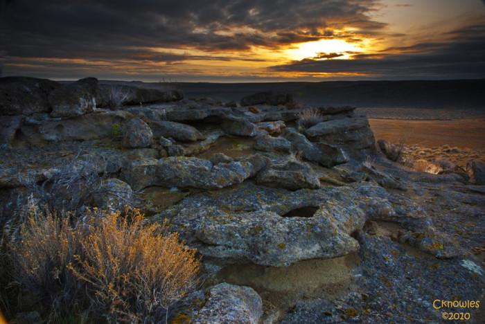 2. Southwest Idaho desert