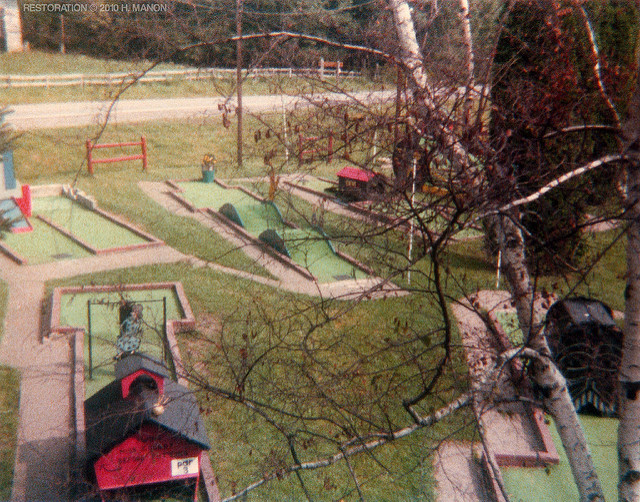 5. Menoher Miniature Golf Course in Johnstown, 1979.