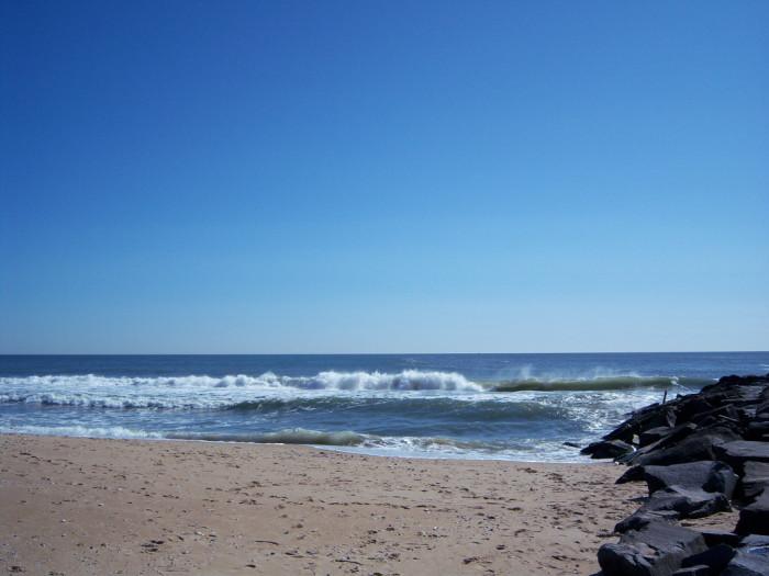 7. As well as the Atlantic Ocean.