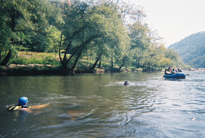 11. Go tubing or rafting along the French Broad River.