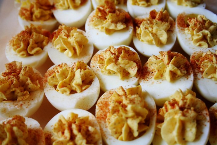 5. Devilled eggs