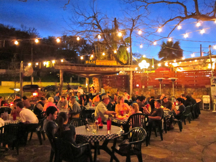 10. Shady Grove is a neighborhood  favorite. They've got a menu full of goodies, and what's better than a burger whilst dining on this gorgeous Texan outdoor patio?