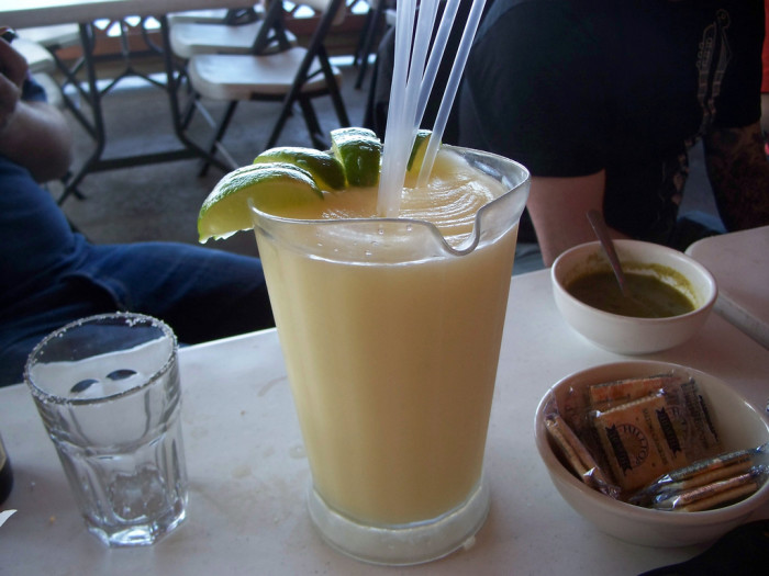 1. Austinites do not need an excuse to drink. Drinking is usually celebrated amongst groups of friends or family, and local businesses certainly cater to the crowds by serving up these massive margaritas by the pitcher.