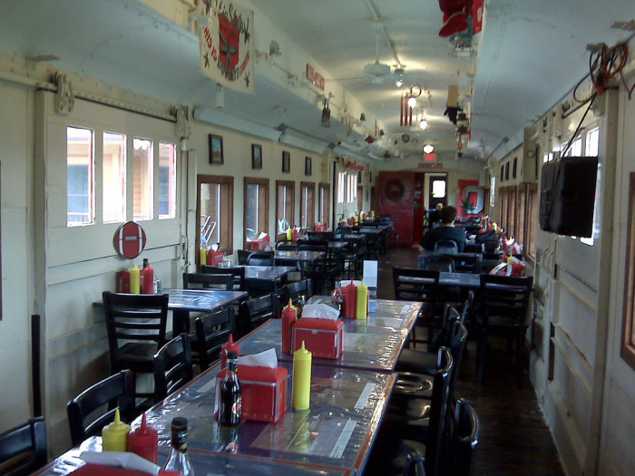 5. Have lunch at the Buckeye Express Diner.