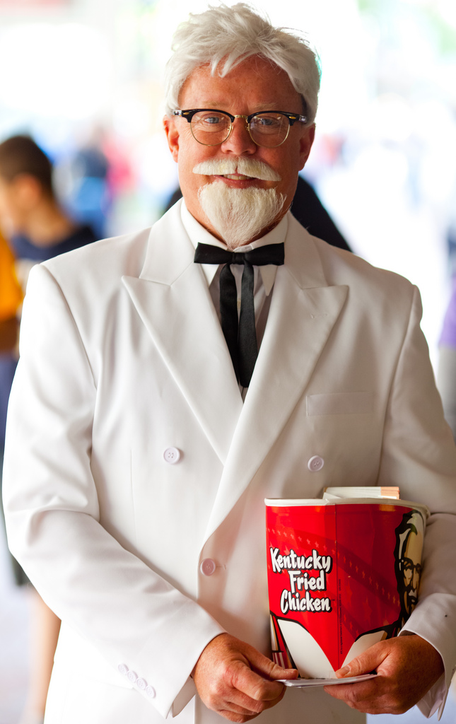 5. The famed herbs and spices in KFC's recipe are no longer as appealing, and the new colonel commercials just make it worse.