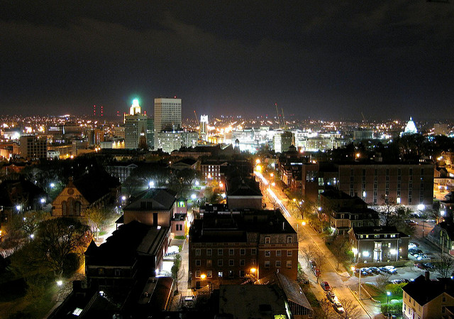 4. Check out this amazing Providence Skyline shot!