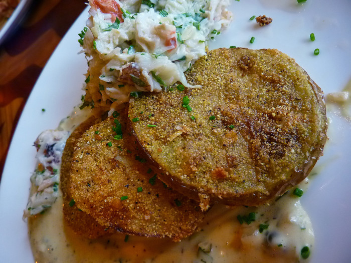10. Fried green tomatoes.