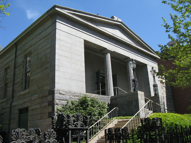 13. Providence Atheneum, Providence: This 1800s building is magnificent. Apparently Edgar Allen Poe felt this way, too. He frequented this subscription library during his stint in Providence in the 1840s.