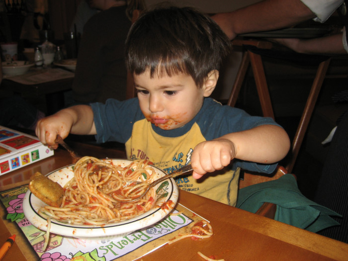 """5. The three most feared and despised words in the English language are """"Kids Eat Free."""""""