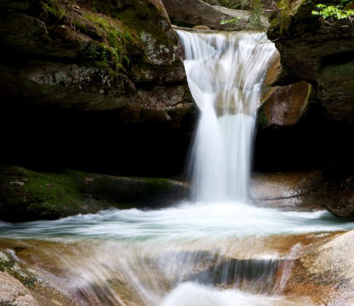 1. Sabbaday Falls, Waterville Valley