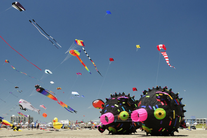 14. Get wild at the International Kite Festival in Wildwood.