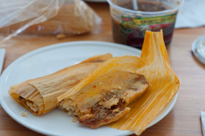 6. Your local burrito or tamale lady (or man) knows you by name.