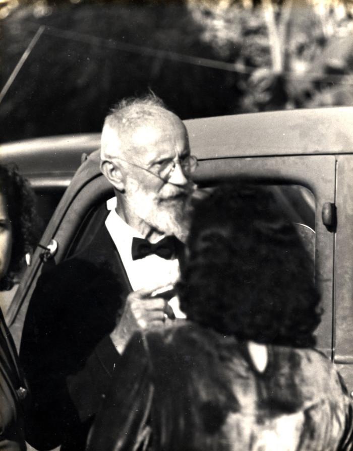 Von Cosel (Carl Tanzler) in 1940. Photo by Stetson Kennedy.