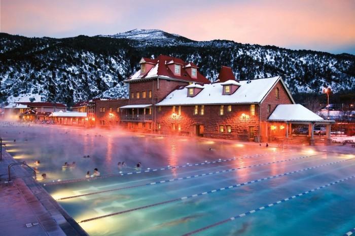 3. Glenwood Hot Springs in Glenwood Springs, Colorado