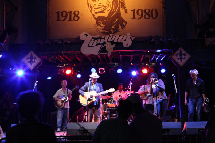 13) Go to Free Fridays at Tipitina's in the Summer