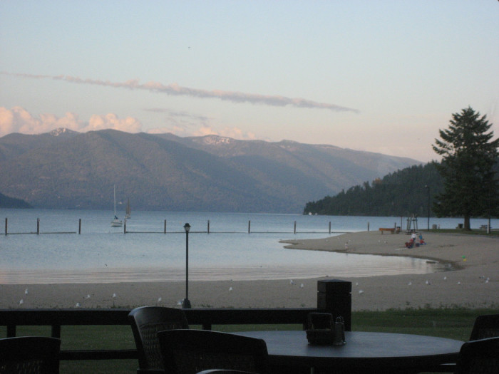 4. Catch some rays (or a sunset) at City Beach in Sandpoint.