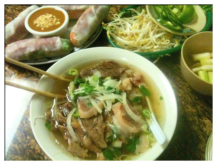 6) Beef Pho from Pho Tau Bay