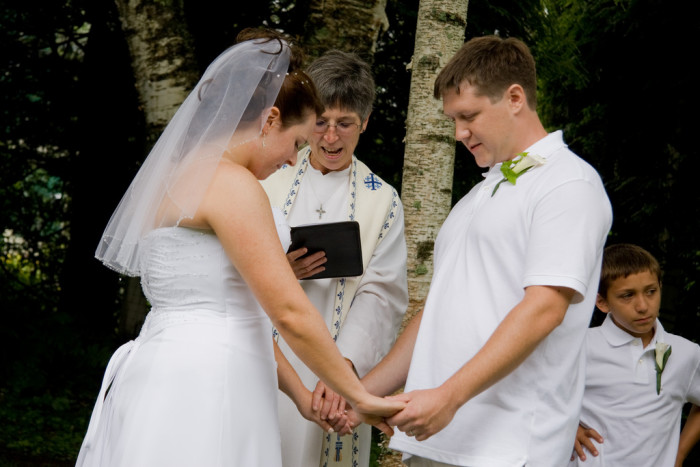 6. It's not unusual to marry your high school sweetheart.