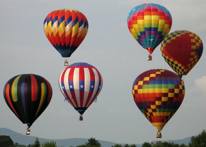 18.  Hot Air Balloon Festival