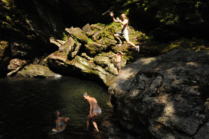 13.  Pick a favorite swimming hole.