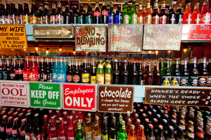 9. They ask for pop instead of soda. Or soda instead of tonic. But that second one is really only an issue if you're at a bar in Boston. It's confusing actually. We'll cut them some slack on this one.