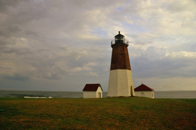 13. This image of Point Judith Lighthouse might be a classic Rhode Island image, but there is still something unbelievable about its beauty.