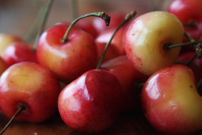 9. Sweet cherries