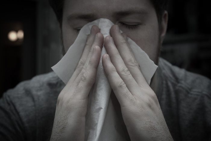 9. Suffering from allergies in January and February, a whole one to three months earlier than the rest of the country.