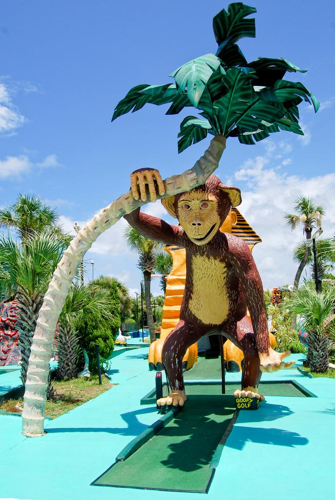 6. Goofy Golf, Panama City Beach