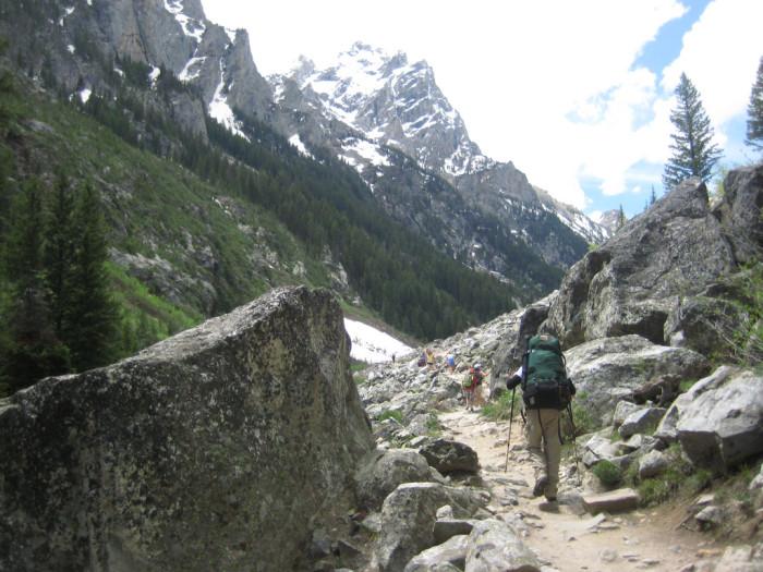 9. Cascade Canyon Trail